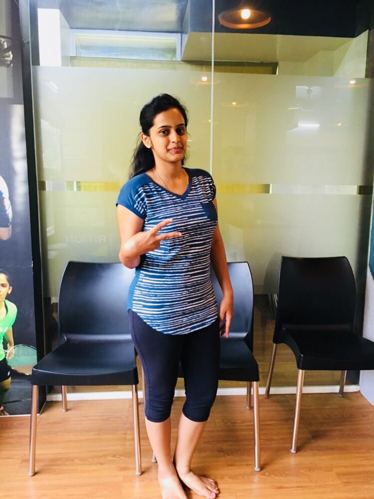 Sampada weight loss story in Pune
