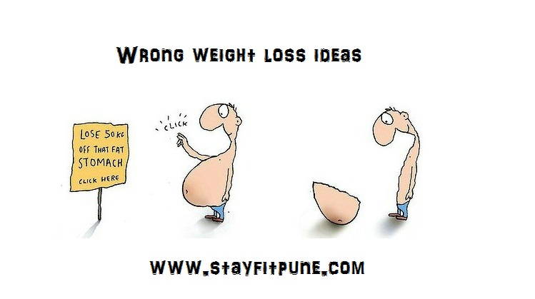 Wrong weight loss ideas : what is it?