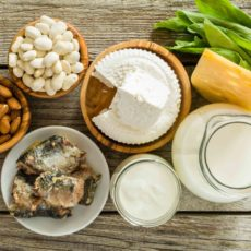 Calcium is important in diet and nutrition