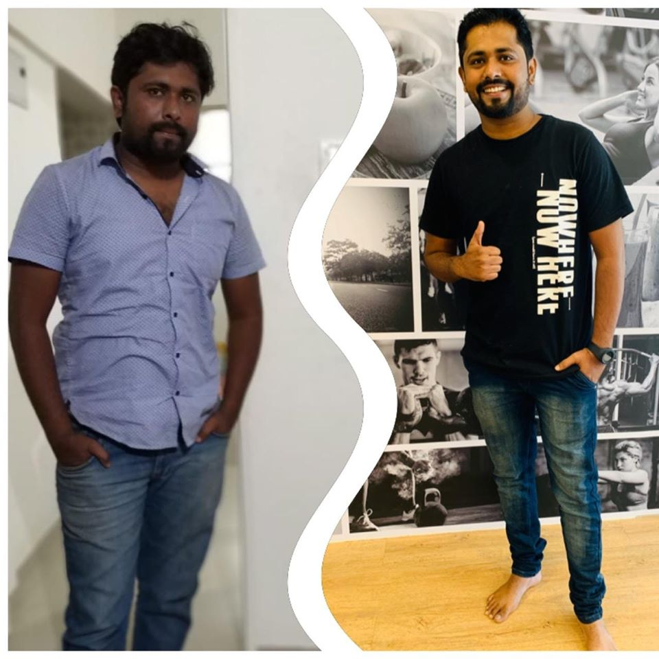 weight loss success story in pune